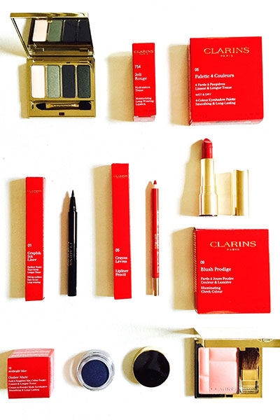 clarins fall look 2017
