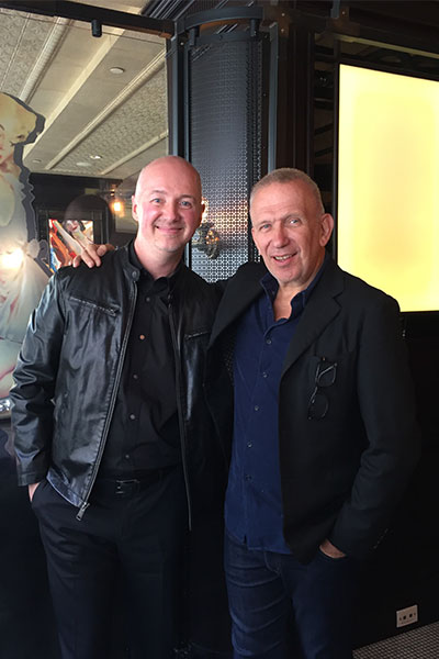 jean paul gaultier and dave lackie