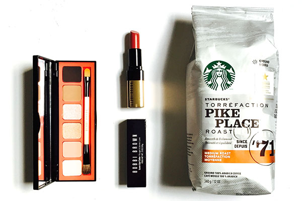 Starbucks Pike Place with Bobbi Brown beauty