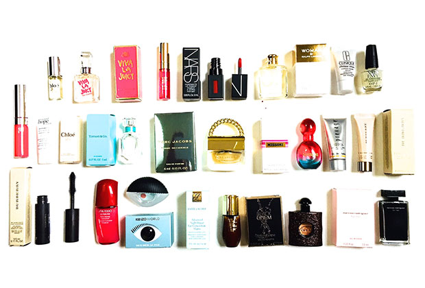 deluxe mini fragrance and beauty products