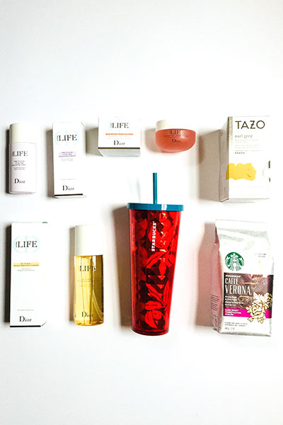 Dior HYDRA Life + StarbucksAtHome