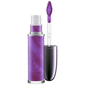 mac grand illusion liquid lipcolour in queen's violet