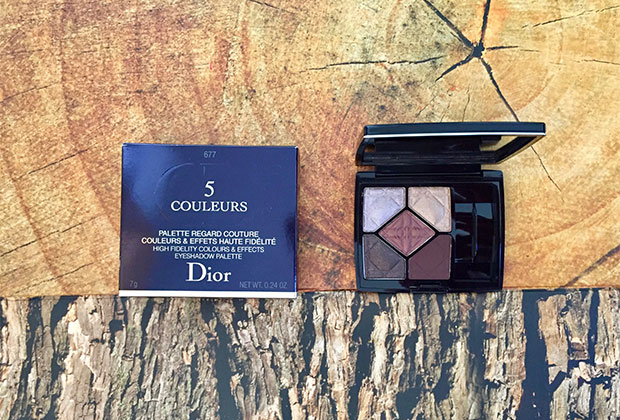 dior 5-couleurs eyeshadow palette in hypnotize