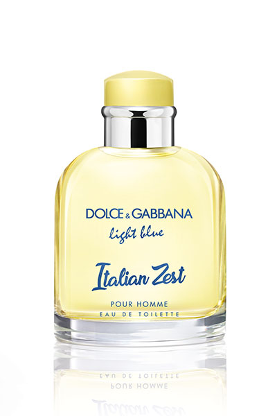 dolce and gabbana light blue for him Italian Zest