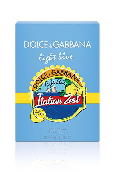dolce & gabbana light blue Italian Zest for him