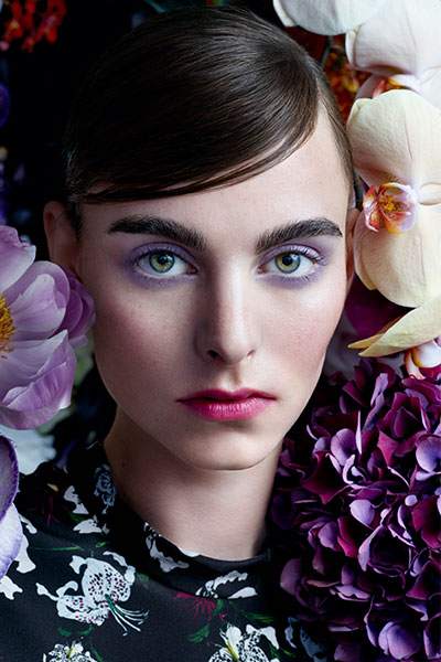 nars x erdem beauty look