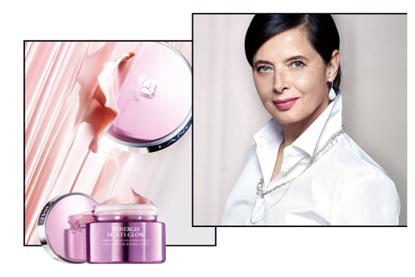 lancome ad with isabella rossellini