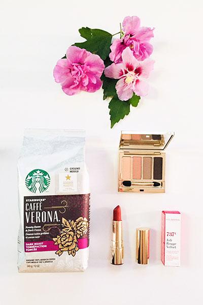 Starbucks Caffe Verona + Clarins
