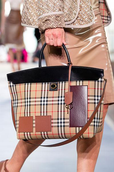 burberry check bag