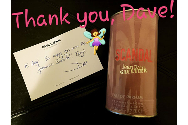 dave lackie beauty giveaway winner