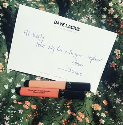 dave lackie beauty twitter winner