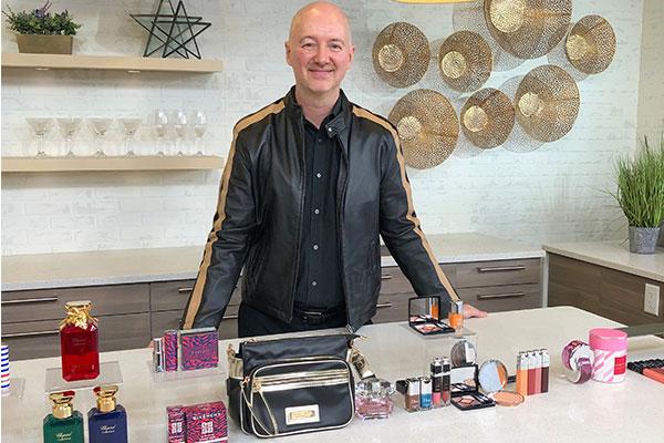 Cityline beauty expert Dave Lackie