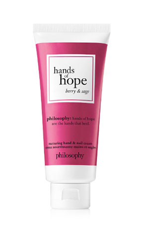 philosophy hands of hope in berry & sage