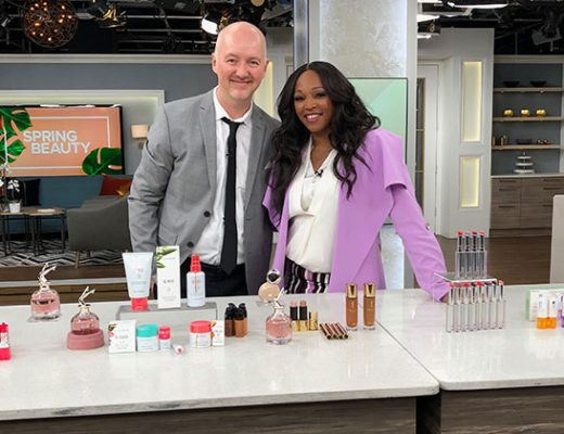 Dave Lackie and Tracy Moore at Cityline