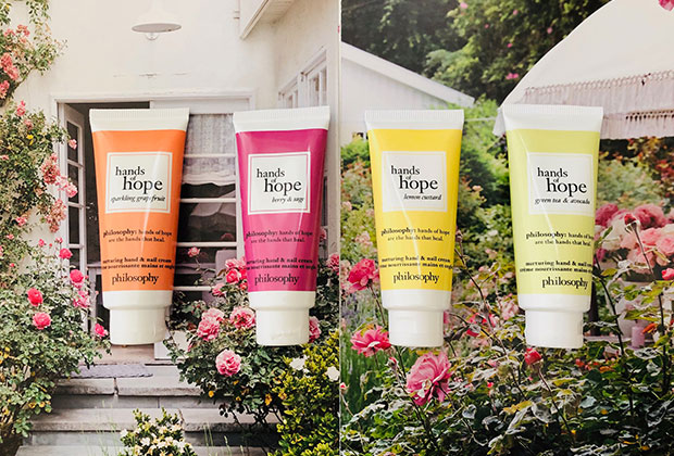 philosophy hands of hope scented collection