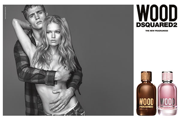 DSquared2 Wood ad campaign