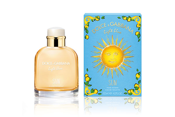dolce and gabbana light blue sun pour homme