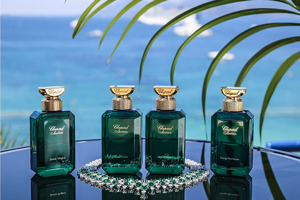 Chopard's luxe Gardens of Paradise fragrances
