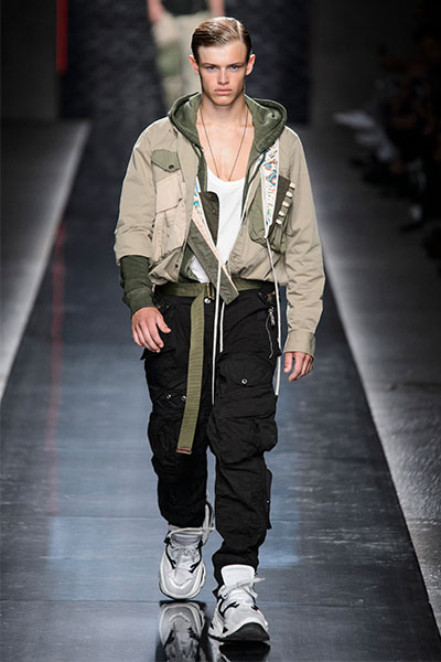 DSquared2 men's fashion look spring 2019