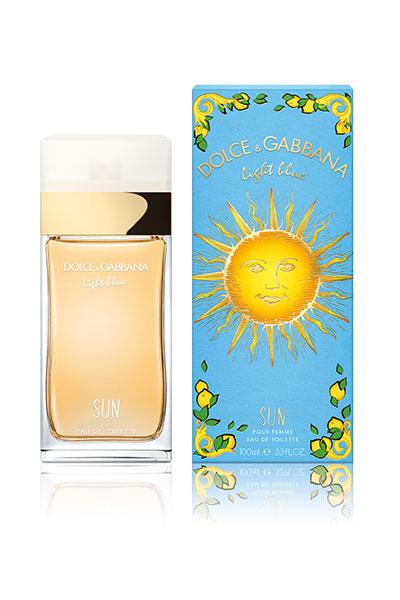 dolce and gabbana light blue sun pour femme