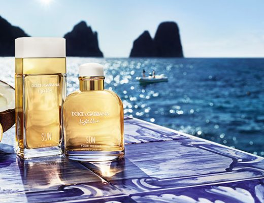 dolce and gabbana light blue sun