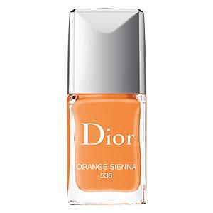 Dior Vernis #536 in Orange Sienna