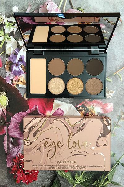 sephora eye love eyeshadow palette in cool neutrals