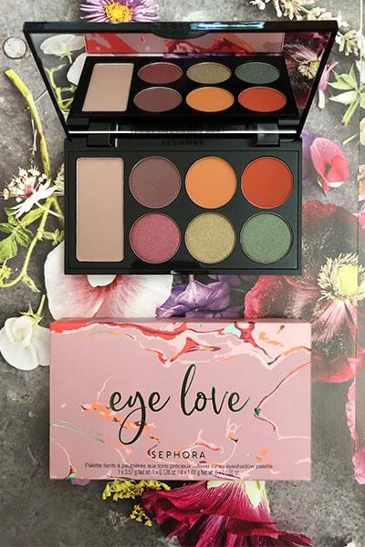 sephora eye love eyeshadow palette in jewel tones