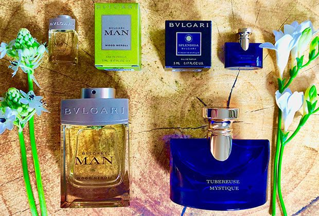 Bvlgari Man Wood Neroli & Bvlgari Splendida Tubereuse Mystique fragrances
