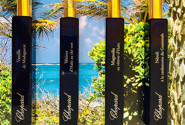 "Chopard ""Gardens of the Tropics"" fragrance collection"