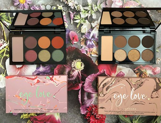 sephora eye love eyeshadow palettes in jewel & cool tones