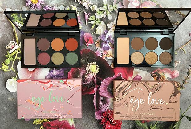 sephora eye love eyeshadow palettes in jewel & cool tones