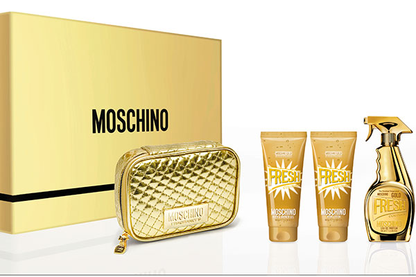 Moschino Fresh Gold Couture gift set