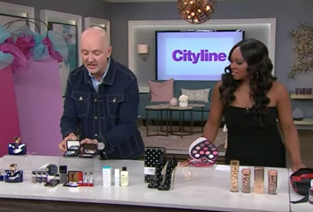 Dave Lackie and Tracy Moore on the Cityline set