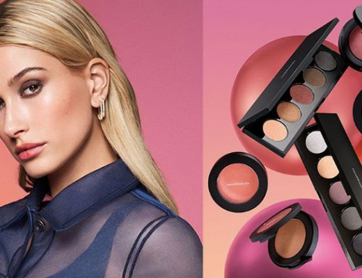 hailey bieber launches bareMineral's Bounce & Blur Collection