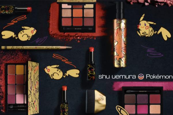 shu uemura x Pokemon makeup collection