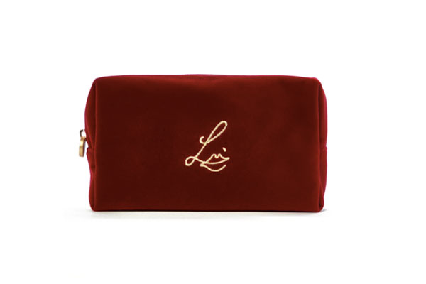 Lisa Eldridge Velvet Cosmetic bag