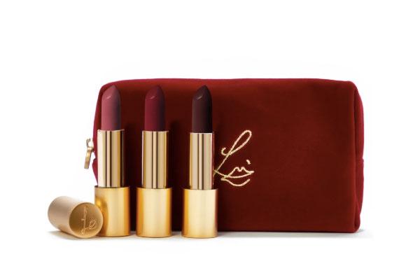 Lisa Eldgride Velvet Lipstick Trio set