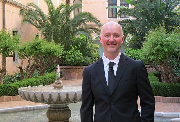 Dave Lackie in Venice