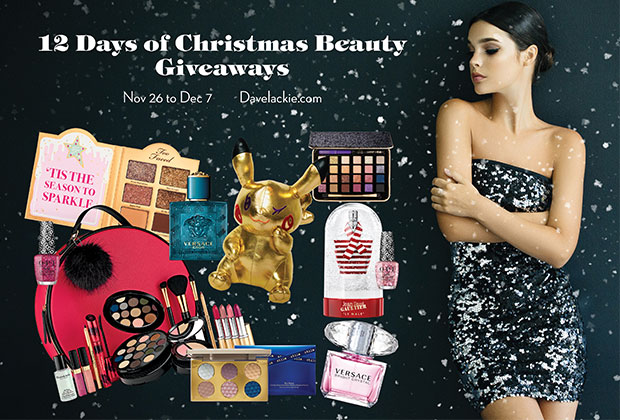 12 Days of Christmas Beauty Giveaways