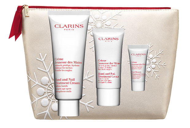 Clarins Hand & Nail Treatment Trio Collection