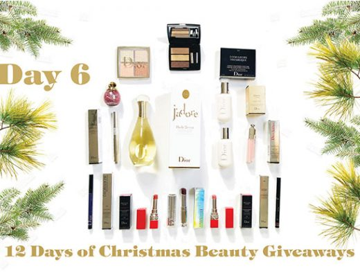 The Holiday Joy of Dior giveaway