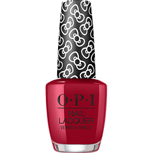 OPI Hello Kitty A Kiss on the Chic nail lacquer
