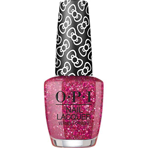 OPI Hello Kitty Dream In Glitter nail lacquer