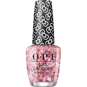 OPI Hello Kitty Born to Sparkle nail lacquer