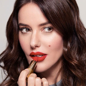 Celebrity makeup artist Lisa Eldridge