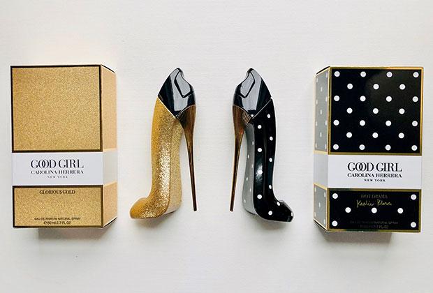 Carolina Herrera Good Girl Glorious Gold & Dot Drama fragrances