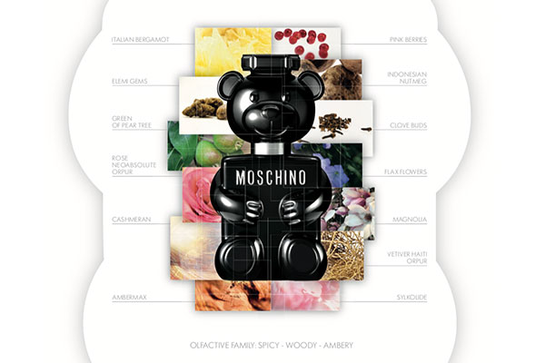 Moschino Toy Boy fragrance notes
