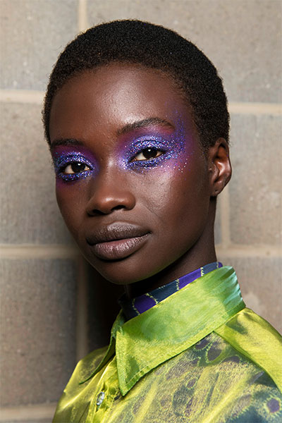 backstage beauty look at House of Holland