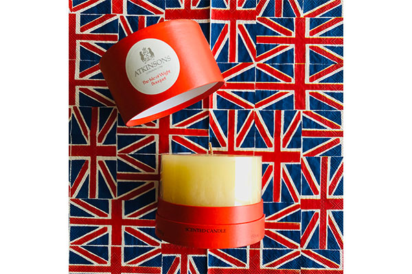 atkinsons the isle of wight bouquet candle